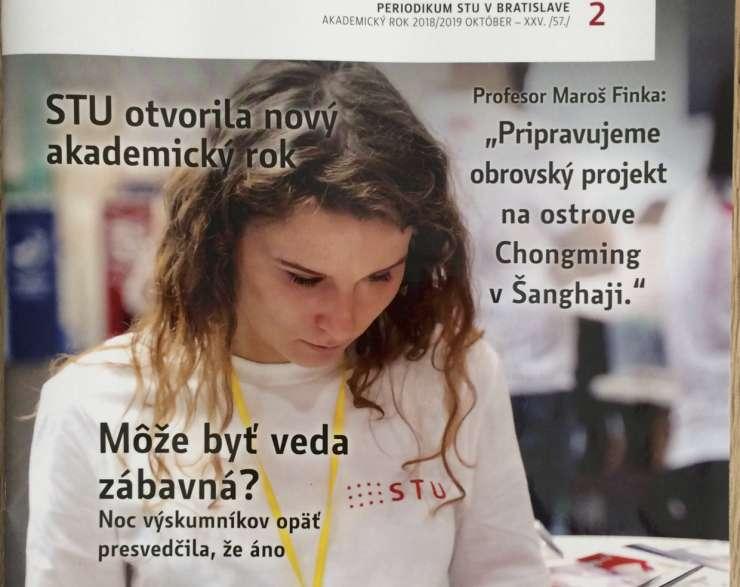 Rozhovor s osobnosťou:  prof. Maroš Finka v časopise Spektrum