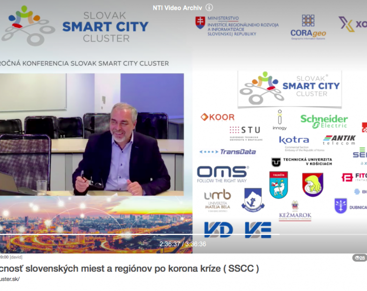 "4. konferencia SSCC  ""SMART CITY online 2020"""