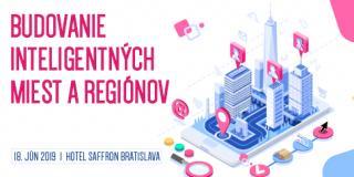 """Konferencia """"Budovanie inteligentných miest a regiónov"""" Bratislava 2019"""