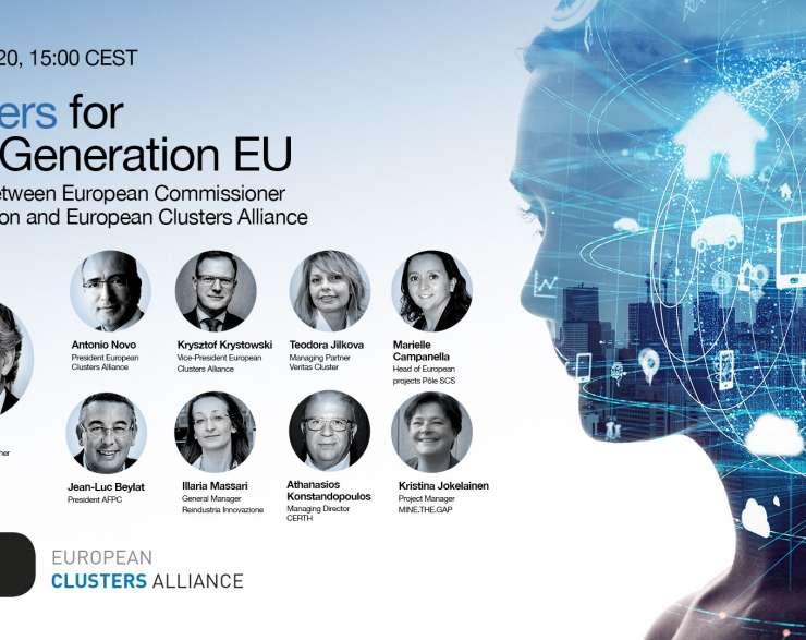 European Clusters Alliance   videokonferencia
