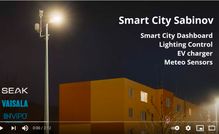 Ako funguje Smart City v Sabinove