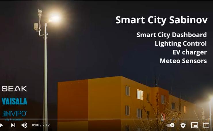 How Smart City works in Sabinov