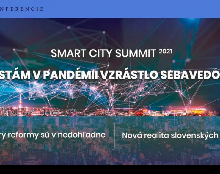 Smart City Summit 2021 – záznam